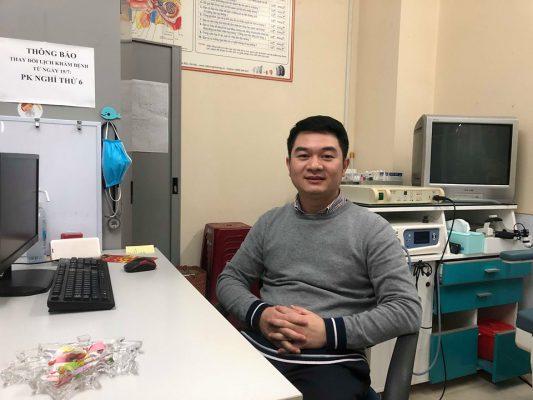 ThS.BS Lê Văn Giáp – Nguyên Trưởng khoa Tai Mũi Họng, Bệnh viện 198
