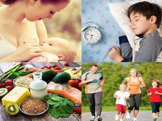 Các cách để tăng sức đề kháng cho trẻ nhỏ
