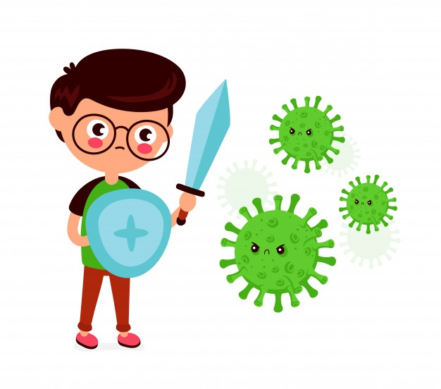 Hệ miễn dịch thích ứng dựa vào các tế bào B và tế bào T để thực hiện nhiệm vụ của mình